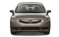 2009 Honda Civic, Front View, exterior, manufacturer, gallery_worthy