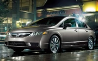 2009 Honda Civic, Front Left Quarter View, manufacturer, exterior