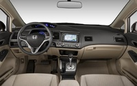 2009 Honda Civic, Interior Front Dash View, manufacturer, interior