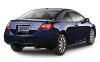 2009 Honda Civic Coupe, Back Right Quarter View, exterior, manufacturer