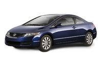 2009 Honda Civic Coupe, Front Left Quarter View, exterior, manufacturer, gallery_worthy
