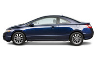 2009 Honda Civic Coupe, Left Side View, exterior, manufacturer