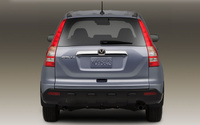 2009 Honda CR-V, Back View, manufacturer, exterior