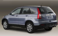 2009 Honda CR-V, Back Left Quarter View, exterior, manufacturer