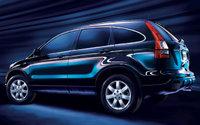 2009 Honda CR-V, Back Left Quarter View, exterior, manufacturer