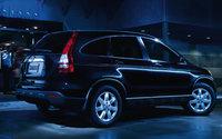2009 Honda CR-V, Back Right Quarter View, exterior, manufacturer