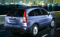2009 Honda CR-V, Back Right Quarter View, manufacturer, exterior