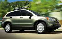 2009 Honda CR-V, Front Right Quarter View, exterior, manufacturer