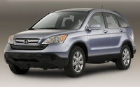 2009 Honda CR-V, Front Left Quarter View, exterior, manufacturer
