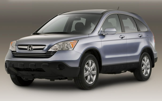 2009 Honda CR-V, Front Left Quarter View, manufacturer, exterior