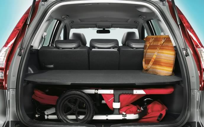 2009 Honda CR-V, Interior Cargo View, interior, manufacturer