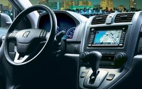 2009 Honda CR-V, Interior Front Dash View, manufacturer, interior
