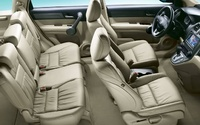 2009 Honda CR-V, Interior Overhead View, manufacturer, interior