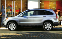 2009 Honda CR-V, Left Side View, manufacturer, exterior
