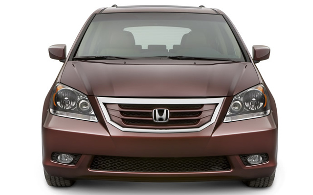 2009 Honda Odyssey, Front View, exterior, manufacturer