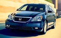 2009 Honda Odyssey, Front Left Quarter View, exterior, manufacturer