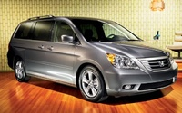 2009 Honda Odyssey, Front Right Quarter View, exterior, manufacturer