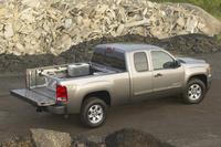 2009 GMC Sierra 1500, Back Right Quarter View, manufacturer, exterior
