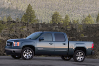 2009 GMC Sierra 1500, Left Side View, manufacturer, exterior