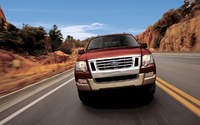 2009 Ford Explorer, Front View, manufacturer, exterior