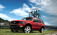 2009 Ford Explorer, Front Left Quarter View, exterior, manufacturer
