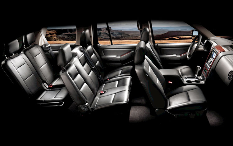 2008 ford explorer interior images pictures becuo