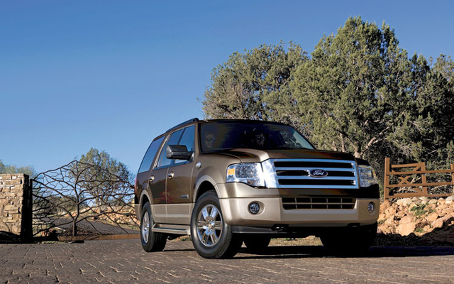 2009 Ford Expedition, Front Right Quarter View, exterior, manufacturer, gallery_worthy