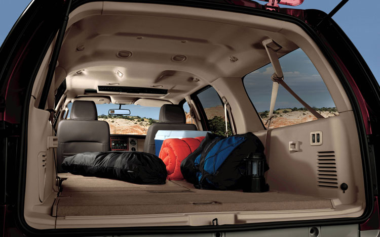 2009 Ford Expedition, Interior Cargo View, manufacturer, interior