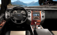 2009 Ford Expedition, Interior Front Dash View, manufacturer, interior