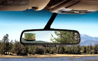 2009 Ford Expedition, Interior Rear View Mirror View, manufacturer, interior