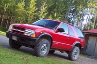 2003 Chevrolet Blazer Overview