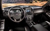 2009 Ford Explorer Sport Trac, Interior Front Dash View, interior, manufacturer