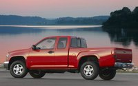 2009 GMC Canyon, Back Left Quarter View, exterior, manufacturer, gallery_worthy