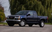 2009 GMC Canyon, Front Left Quarter View, exterior, manufacturer, gallery_worthy