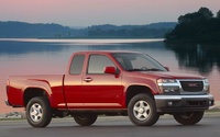 2009 GMC Canyon, Front Right Quarter View, manufacturer, exterior
