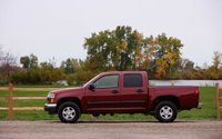 2009 GMC Canyon, Left Side View, exterior, manufacturer