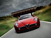 2009 Alfa Romeo 8C Competizione picture, exterior, manufacturer
