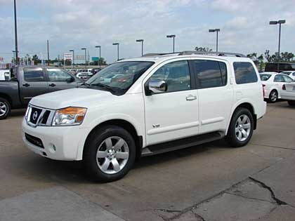Picture of 2009 Nissan Armada LE, exterior, gallery_worthy