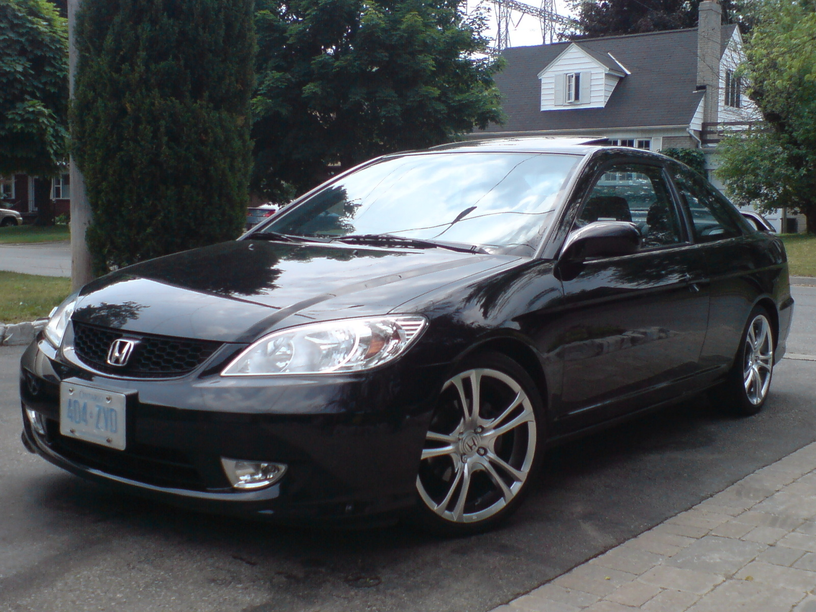 Picture of 2005 honda civic si exterior