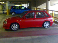 1987 Vauxhall Nova Overview