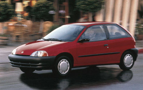 1997 Geo Metro 2 Dr LSi Hatchback picture, exterior
