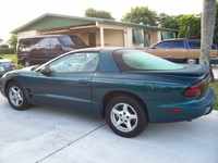 2000 Pontiac Firebird Trans Am Convertible, 2000 Pontiac Firebird 2 Dr Trans Am Convertible picture, exterior