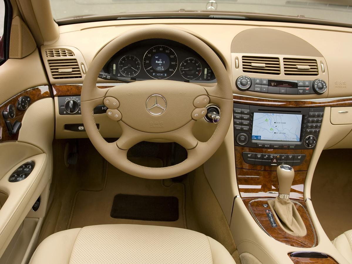 2003 mercedes e class interior for 2008 mercedes benz e class reliability