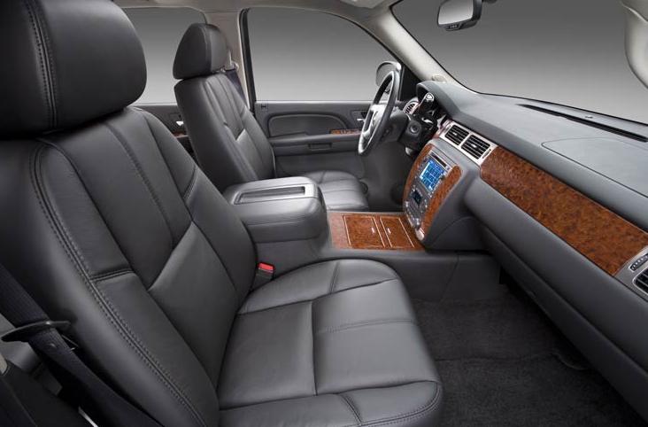 2009 Chevrolet Avalanche, front seat, interior, manufacturer