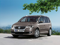 2008 Volkswagen Touran, Front Left Quarter View, exterior, manufacturer