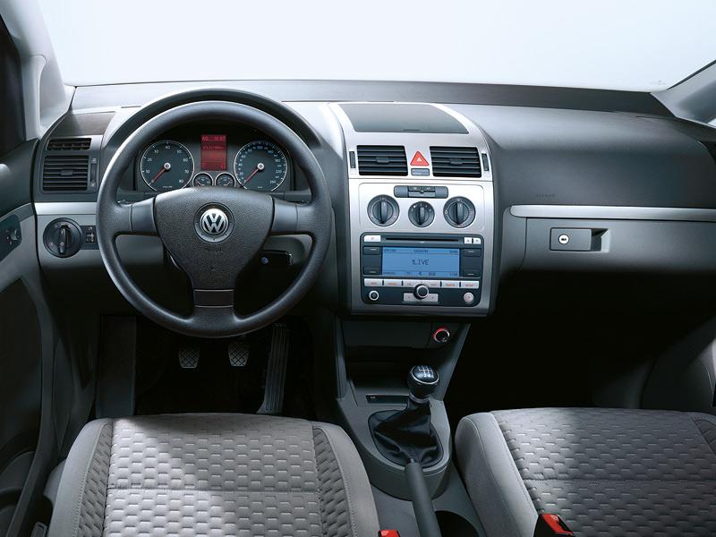 Volkswagen touran car interior pictures for Interior touran
