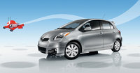 2009 Toyota Yaris, Front Left Quarter View, exterior, manufacturer