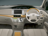 2008 Toyota Previa, Interior Front View, interior, manufacturer