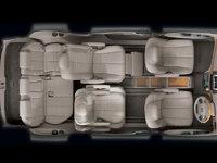 2008 Toyota Previa, Interior Overhead View, interior, manufacturer