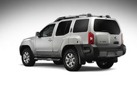 2009 Nissan Xterra, Back Left Quarter View, exterior, manufacturer
